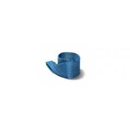 Polyester hijsbanden 8t met versterkte lussen 1m